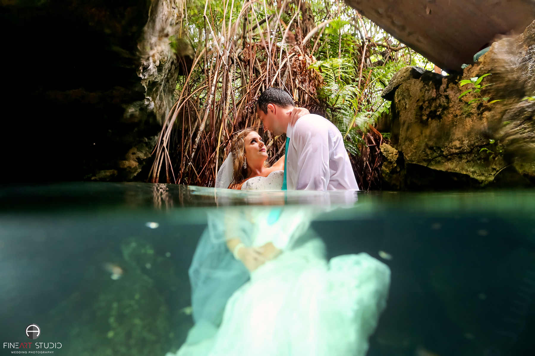 Trash the Dress Photography Cancun Riviera Maya - FineArt Studio
